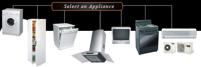 Select an appliances